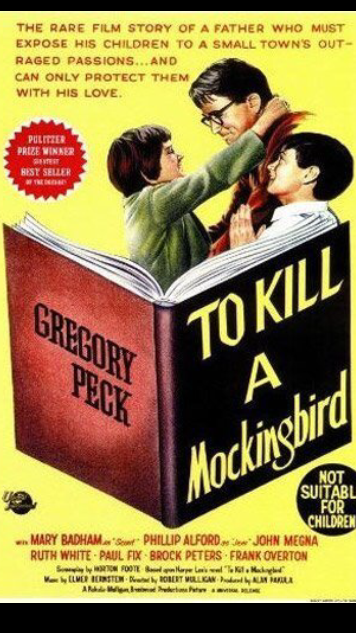 a critique of the movie adaptation of to kill a mockingbird To kill a mockingbird is my favorite book and initially, when i learned there was a movie adaptation, i was quite hesitant on watching it there are so many great books that are not given enough justice on film and i wouldn't want to see to kill a mockingbird fimed just like the rest.