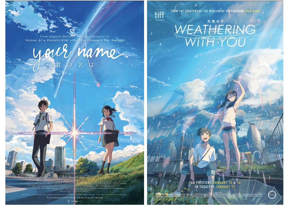 Your Name 2016 Weathering With You 2020 The Not Left Handed Either Film Guide